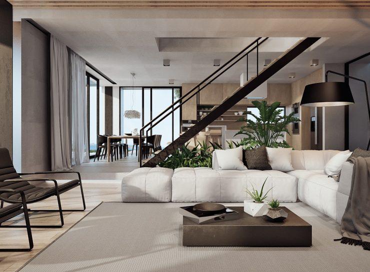 дизайн интерьера домов и коттеджей в Алматы