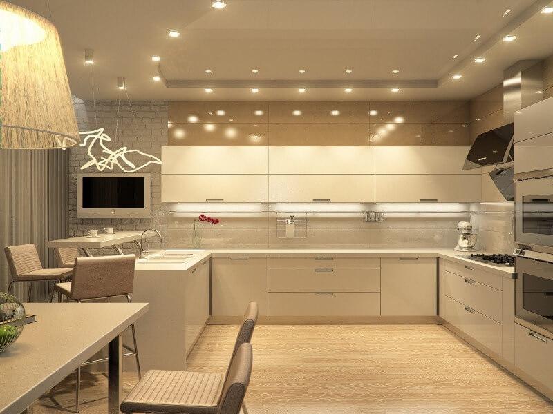 дизайн кухни в Алматы